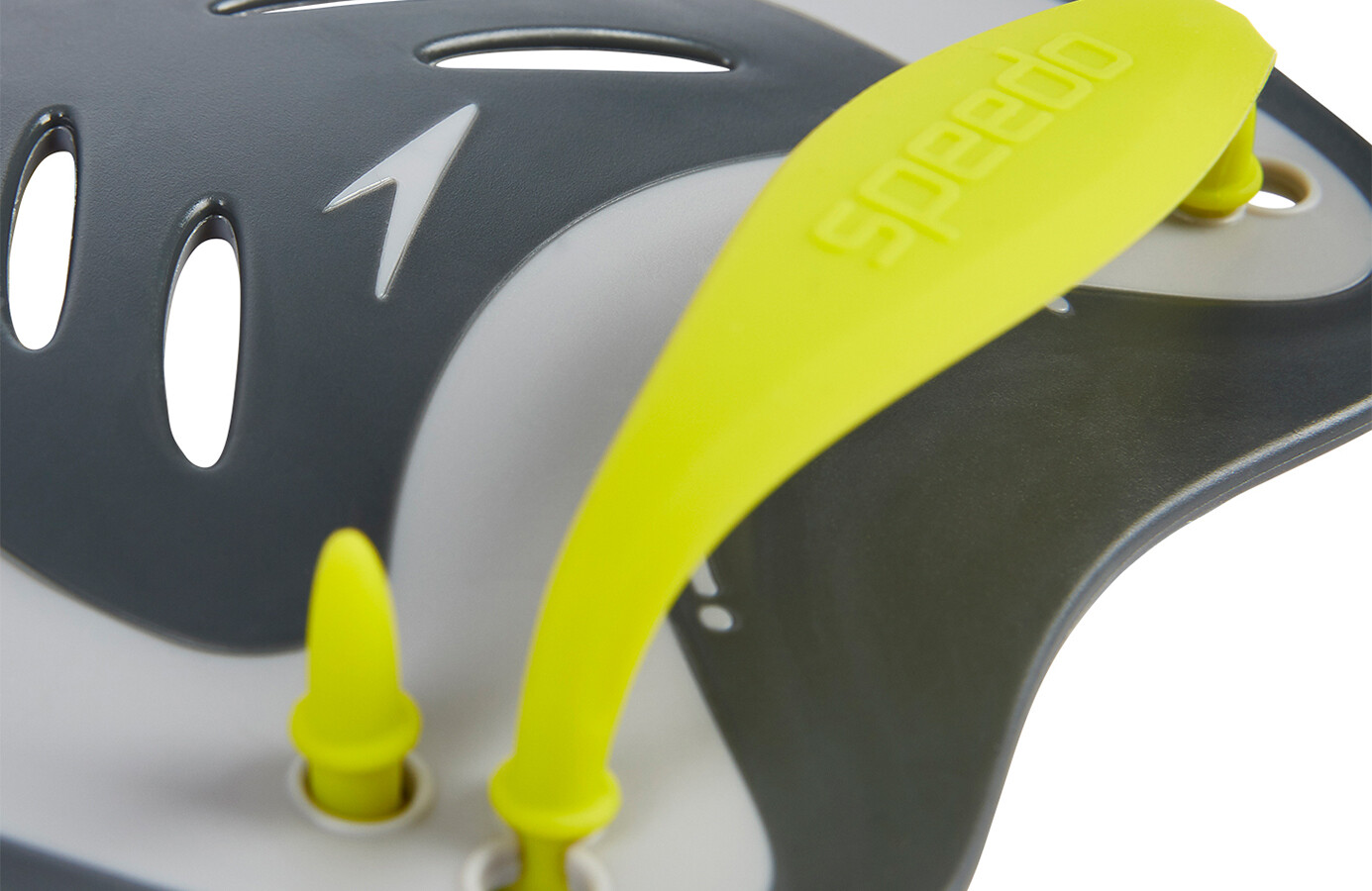 ce0f6139f3 speedo Biofuse Power Paddles Unisex oxid grey/lime punch/cool grey ...